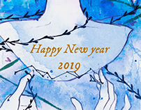 Poster Design - Happy new year 🎉