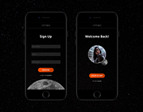 Daily UI Challenge 001: Signup
