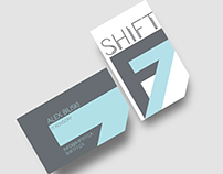 Shift F7 branding design