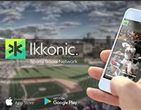 Ikkonic App - Sports Social Network
