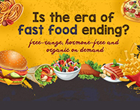 Is the era of fast food ending