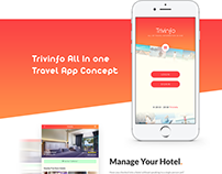 Free Trivinfo-Travel Mobile Application Design