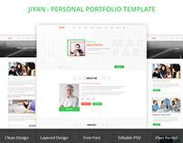 JIYAN- Personal Portfolio Template