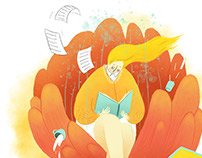 Editorial Illustration- The Lost Art of Leisure