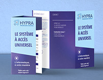 HYPRA, GRAPHIC CHARTER AND WEBDESIGN