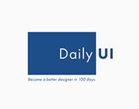 Daily UI (#dailyui)