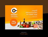 Cookit app - UI design concept