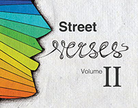 Street Sense Poetry Book Cover-Street Verses Volume II
