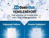Newsletter Design for Demirdöküm