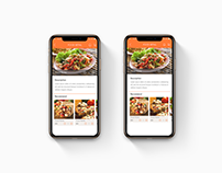 Example Food App Design