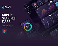 DAFI - Crypto Staking App