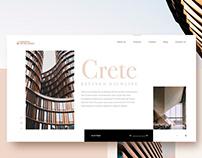 Crete website concept