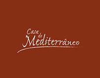 Identidade corporativa - Casa do Mediterrâneo