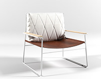 Mono Armchair - 3D Model Download