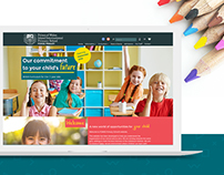 International School Website Design - WordPress Theme