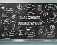 Blackboard Chalkboard Prezi Presentation Template