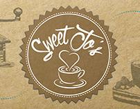 Sweet Jo's coffee shop Corporate ID & Branding