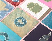 Entropy - Monoprint Series