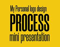 My personal logo design process