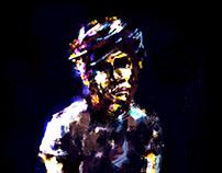 Glow Pastel Portrait