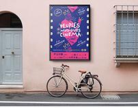 Illustration du visuel d'un festival de cinéma