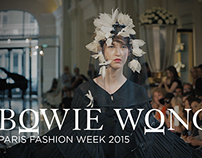 PARIS FASHION WEEK 2015 / BOWIE WONG