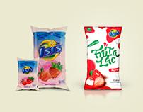 Re-design da embalagem da bebida láctea isis