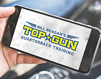 Top Gun Quarterback Training Logo