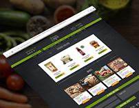 Priroda & društvo Webshop UI Design