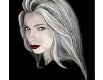 First Digital Painting Portrait