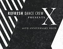 Refresh Dance Crew's 10th Anniversary Show