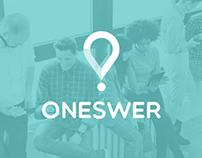 Oneswer | Branding - App
