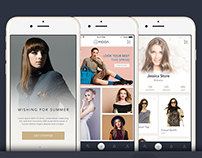 La Moda Fashion Apps Design