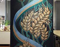 Salt Lake Culinary Center's Chalk Wall