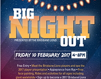 Print + Digital - Big Night Out Family Event