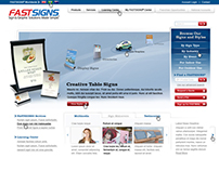 Fast Signs - website redesign