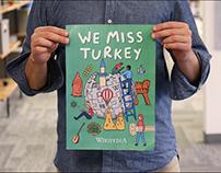 Wikipedia #WeMissTurkey campaign poster