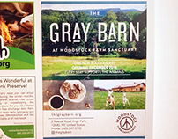 Ad for The Gray Barn, published in VISITvortex, 2018