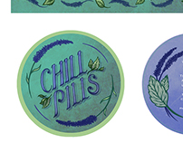 Confectionary Packaging Design: Chill Pills