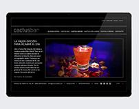 CactusBar - Web Design