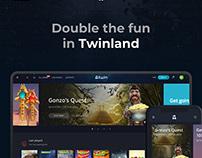 Twin.com design