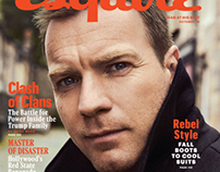 "Ewan McGregor for ""Esquire"" Magazine"
