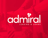 Admiral Leasing - Brand & Website Redesign