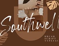SOUTHWELL BRUSH SCRIPT - FREE FONT