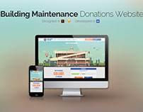 Donations website design & development