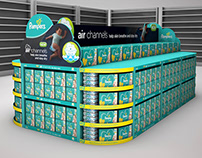 Pampers3d Stand 2x1
