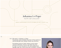 Création de power Point Johanna LePape, Paris, Loolye