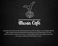 Meson Cafe Branding