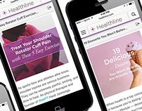 Healthline I Articles