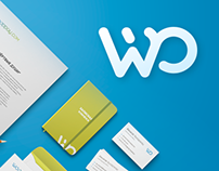 Логотип и фирменный стиль платёжной системы Wooppay